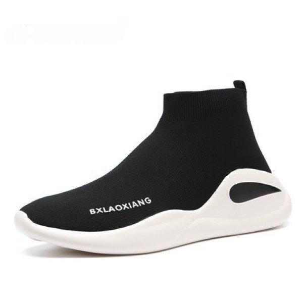 画像1: men's Elastic socks shoess sneakers High or low エラスティックソックスシューズ スニーカー ブーツ (1)