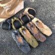 画像9: Women's Bow flat bottom mink fur Pumps loafers Pumps ボウ付きモコモコフラットパンプス (9)