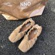 画像4: Women's Bow flat bottom mink fur Pumps loafers Pumps ボウ付きモコモコフラットパンプス (4)