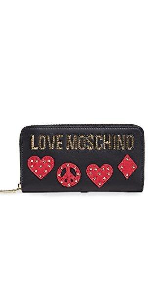 画像1: Moschino Wallet モスキーノレザー財布ウォレット (1)