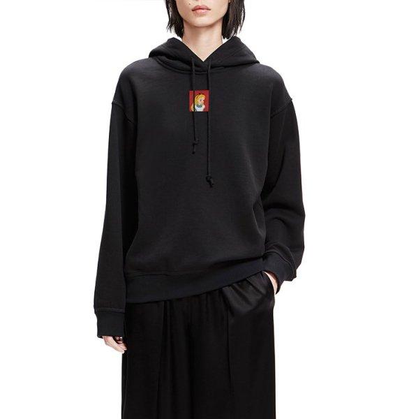 画像1: Alice Wonderland Printed Sweatshirt Hoodie Trainer アリスプリントスウェットパーカー トレーナー 男女兼用 (1)