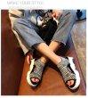 画像3: WOMEN'S Elastic Knit sports sneakers sandals  shoes エラスティックニットソックスサンダル スニーカー (3)