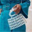 画像2:   crystal handmade bubble beads beaded bag クリスタルハンドメイドバブルビーズバッグ (2)