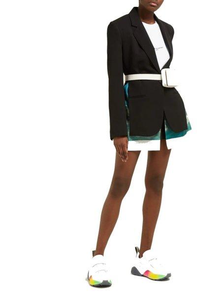 画像1:  women's color matching leather sneakers shoesカラフルレインボーカラーマッチングレザースニーカー (1)