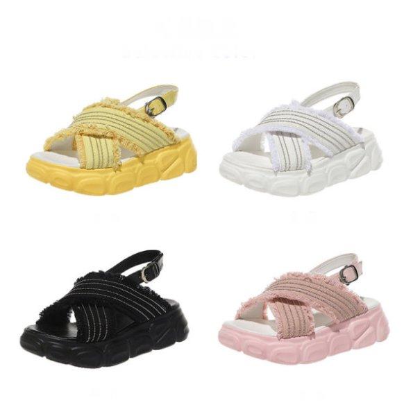 画像1:  Women's Practice Strapless Sandals slippers  ウィメンズ プラクティスクストラップサンダルサンダルフラットサンダル スリッパ サボ (1)