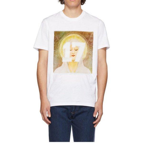 画像1:  street fashion 17 digital Virgin print short-sleeved T-shirt  デジタルプリントストリートファッションラウンド半袖Tシャツ 男女兼用 (1)