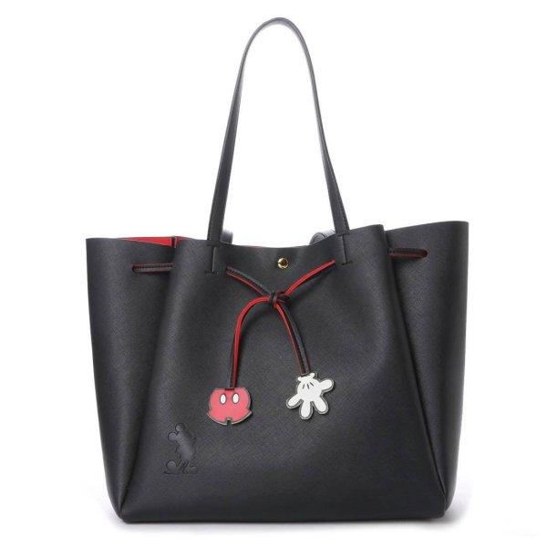 画像1:  woman's Mickey Mouse Tote Shoulder Bag Mommy bag ミッキーバック 2WAYトートショルダーバック ママバック (1)