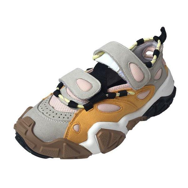 画像1:  women's   platform sports shoes slip-on sneakers shoes   プラットフォーム 厚底スニーカー  スリッポン (1)