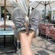 画像5: 即納 セール SALE Men's All white coconut 350 -2 tide shoes lace up sneakers casual shoes ユニセックス男女兼用レースアップスニーカー カジュアル シューズ -2 (5)