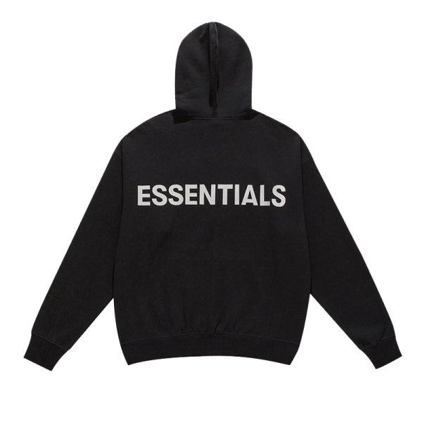 画像1: 即納 セール SALE men's street men long-sleeved hoodie sweatshirt ESSENTIALS ユニセックス男女兼用 エッセンシャルズ バックロゴフーディーパーカー スウェット (1)