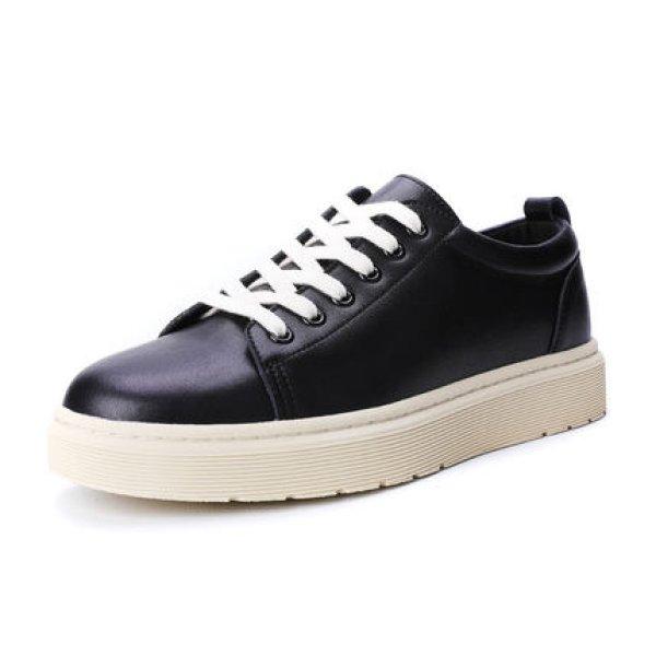 画像1:  Men's Leather lace-up sneakers Low cut and high cut shoes  レザーレースアップスニーカー ローカット&ハイカットシューズカジュアル シューズ  (1)