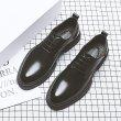 画像5: Men's leather basic business casual shoes Slip-on shoes  メンズレースアップビジネスシューズ スリッポン スニーカー (5)