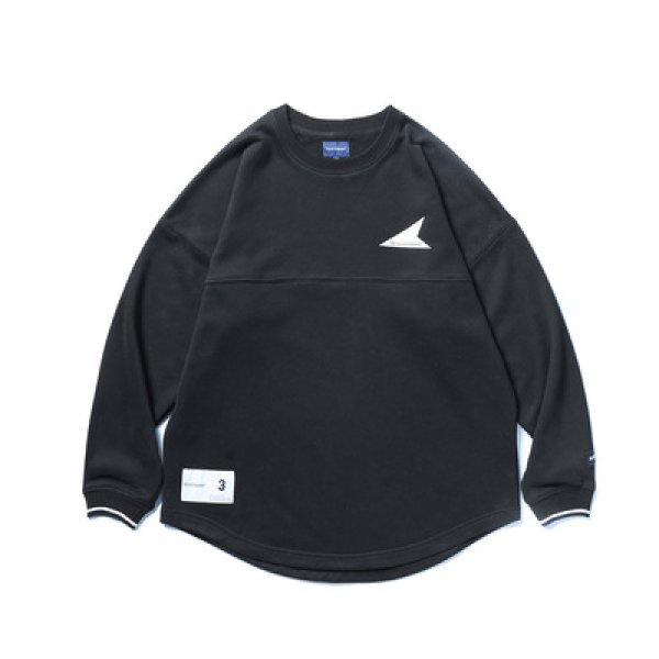 画像1: men's Oversize  loose round neck pullover sweatshirts men and women ユニセックス男女兼用ロゴプリントスウェットシャツ Tシャツ (1)