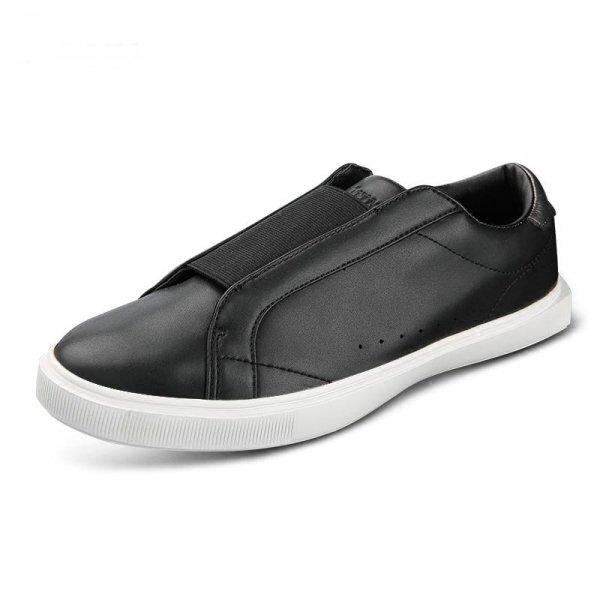 画像1:  Men's  casual leather  sneakers  shoes   レザーシンプルスニーカーカジュアル シューズ  (1)