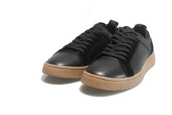 画像1:  Men's Lace-up simple sneakers  shoes   シンプルレースアップスニーカーカジュアル シューズ  (1)