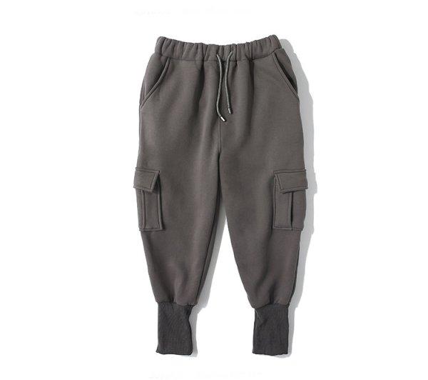 画像1:  Men's Sweat Hip Hop Loose Pants trousers pans メンズスウェットヒップホップルーズパンツリラックスフィット カーゴパンツ カジュアルパンツ  (1)