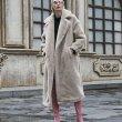 画像6: Women's Oversize Teddy Bear Fur Coat テディベア オーバーサイズ リアルシープファーコート 2つボタン (6)