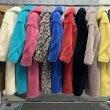 画像8: Women's Oversize Teddy Bear Fur Coat テディベア オーバーサイズ リアルシープファーコート 2つボタン (8)