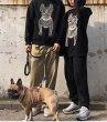 画像8:  men's  men and women round neck Bulldog Print sweatshirt sweater ユニセックス男女兼用 ブルドックプリントスウェット トレーナー (8)
