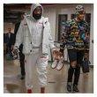 画像8: 即納 セール SALE men's NASA 3M reflective jacket super fire INS same astronaut flight jacketユニセッ クス男女兼用 NASA ナサフライトジャケット コート (8)