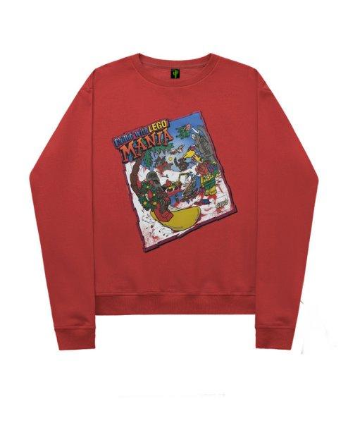 画像1:  men's men and women hedging loose long sleeve sweater print Hoodie round neck hooded sweater ユニセックス男女兼用ポッププリントプルオーバ ートレーナー (1)