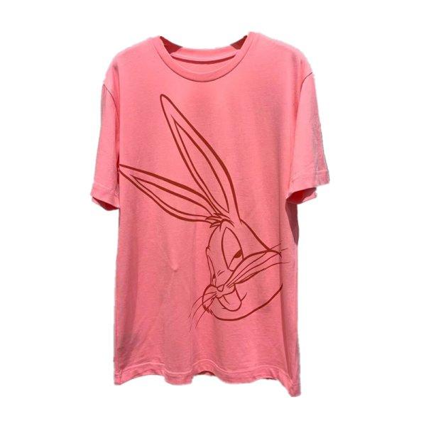 画像1: Women's Bugs Bunny short-sleeved T-shirt Looney Tunes Bugs Bunny バッグス・バニー バッグス・バニープリント半袖Tシャツ ユニセックス男女兼用 ルーニー・テューンズ (1)