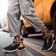 画像10: men's  high cut lace-up breathable shock absorption Sneakers shoes ユニセックス男女兼用 ハイカットレースアップハイトップ衝撃吸収スニーカー (10)
