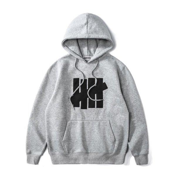 画像1:  men's UN undefeated five-bar classic printing hoodie sweater shirt ユニセックス男女兼用ロゴプリントフーディーパーカー トレーナー (1)