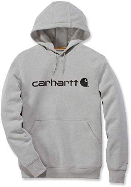 画像1:  men's Carhartt Men's Force Delmont Signature Graphic Hooded Sweatshirt  カーハート Carhartt メンズ パーカー トップスユニセックス男女兼用 (1)