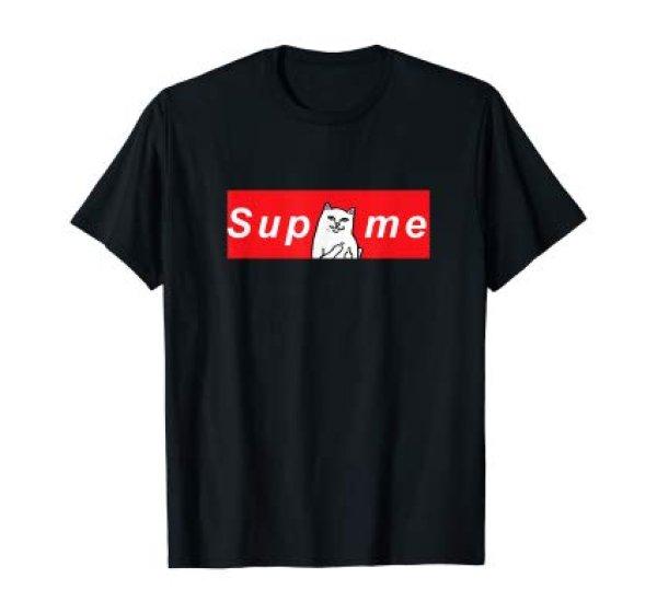 画像1: Mens Funny Cat RipnDip T-Shirt    ファニーキャットTシャツユニセックス男女兼用  (1)