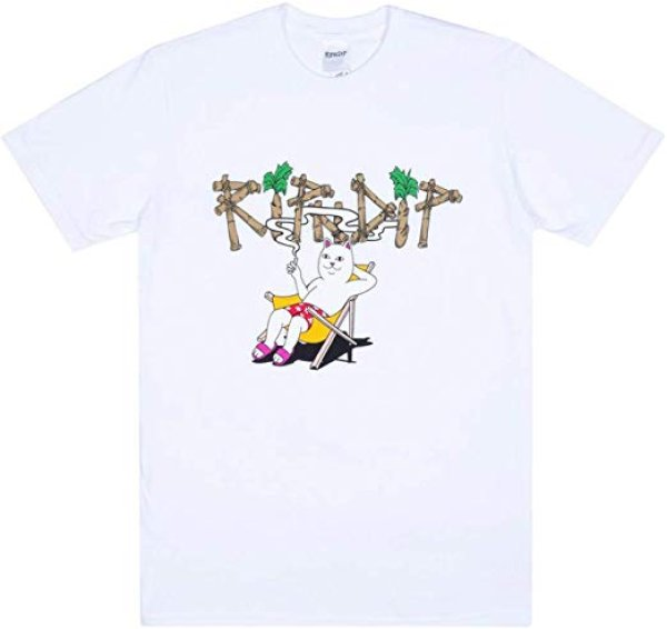 画像1: Rip N Dip Island Nerm T-Shirtネ リップンディップリップアンドディップアイランドネルムTシャツ ユニセックス男女兼用  (1)