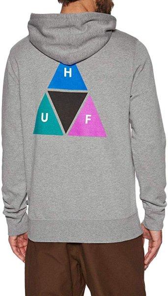 画像1:  HUF Prism Pullover Hoodie  Long Sleeve Hoodie HUFハフ プリズムプルオーバーフーディーメンズロングスリーブフーディーユニセックス男女兼用  (1)