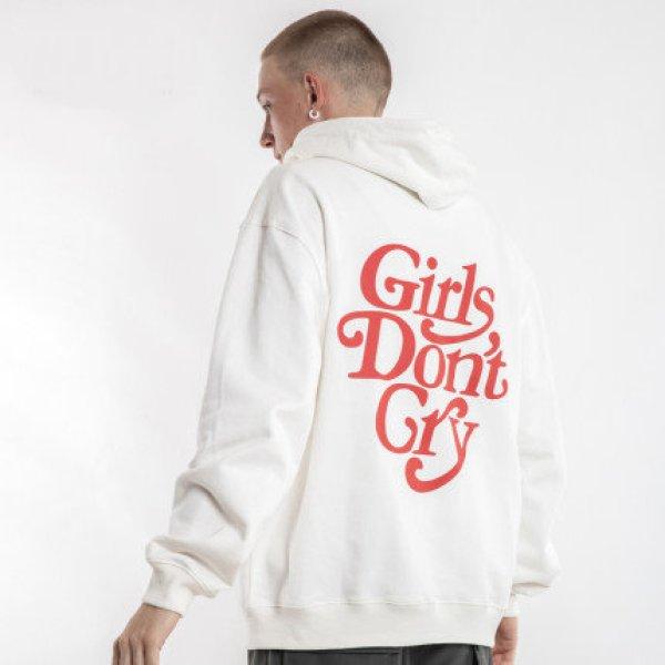 画像1: Girl Don't Cry Girls don't cry Print hoodie  ガールズ ドント クライ ガールドントクライ プリント フーディー パーカーユニセックス 男女兼用 (1)