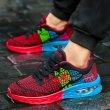 画像3: unisex breathable mesh shoes sneakers   メッシュエアークッションレースアップスニーカー  (3)