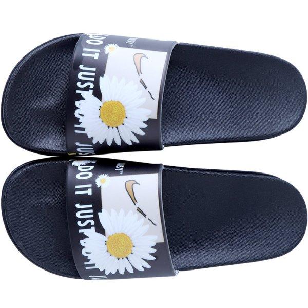 画像1: men's Daisy slippers flip flops  soft bottom sandals slippers  プラットフォームトム&ジェリーフリップフロップサンダルシャワーサンダル ビーチサンダル ユニセックス男女兼用 (1)