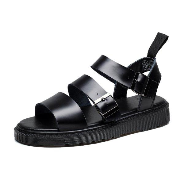 画像1:  Leather strap sandals unisex  ユニセックス男女兼用レザーストラップサンダル (1)