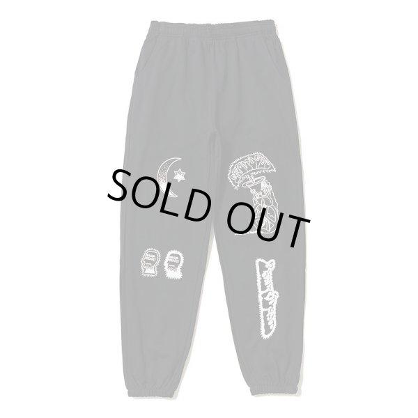 画像1:  Brain Dead Gustavo Sweatpants graffiti sports trousers ブレインデッド スウェットパンツ ジョガーパンツ (1)