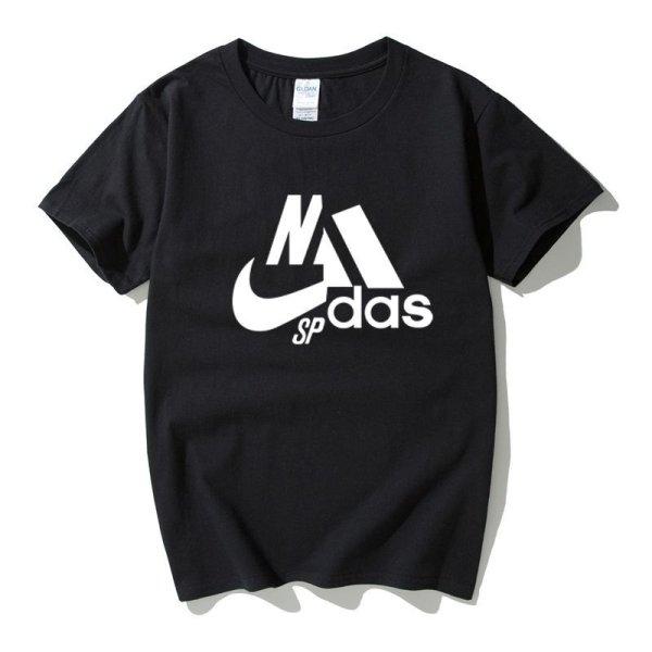 画像1: 即納 Unisex Men's NIKdas sp logo tshirt  ユニセックス 男女兼用 ナイダス ニキダス SP 半袖Tシャツ (1)