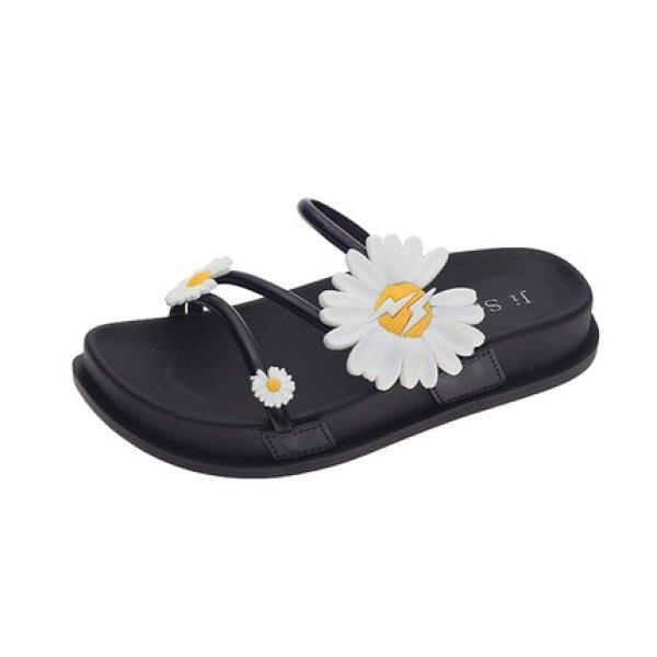 画像1: Women Little daisy thick bottom sandals and slippers shower sandals flip-flops slippers リトルデイジー厚底サンダルシャワーサンダル フリップフロップ 男女兼用 (1)