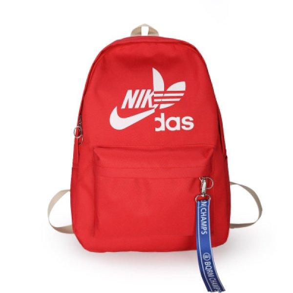 画像1: 即納 Unisex Men's NIKdas logo Nylon backpack ユニセックス 男女兼用 ナイダス ニキダス ナイロン リュックサック バックパック バッグ (1)