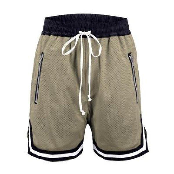 画像1: Unisex Men's  basketball pants casual five-point half  sports pants  ユニセックス 男女兼用バスケットボールハーフパンツ (1)