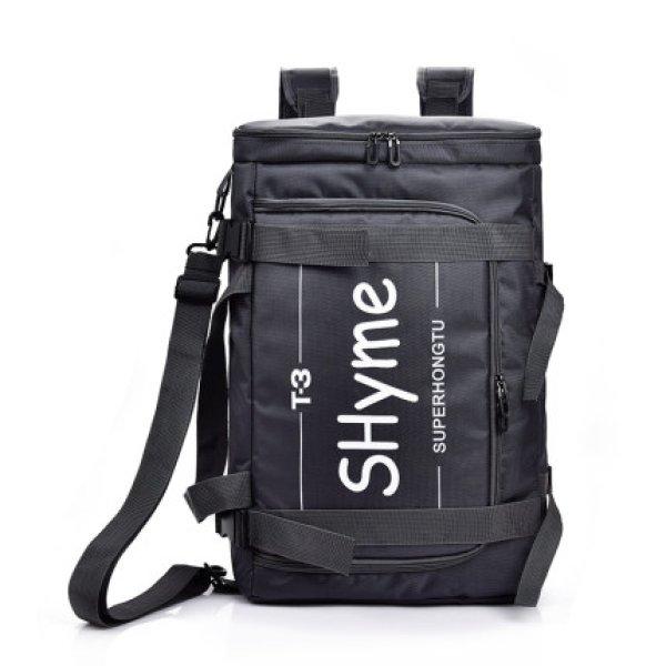 画像1: Unisex Men's Nylon  large capacity Backpack  Shoulder Bag ユニセックス 男女兼用  2WAYラージサイズバックパックショルダー バック (1)
