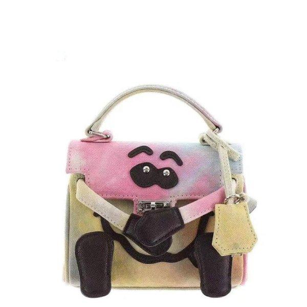 画像1: Women's monster rendering department hand bag messenger bag Tote shoulder Bag  モンスターショルダートートバッグ (1)