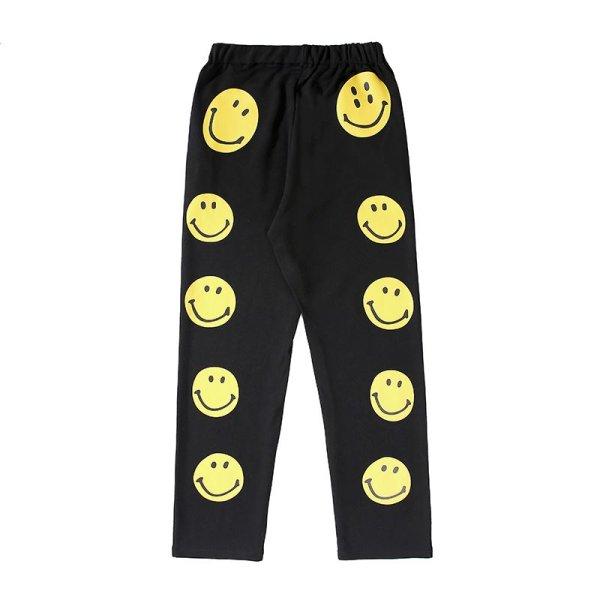画像1: 即納 Men's Smile Face Guard sweat Pants    ユニセックススマイルフェイスガードスウェットパンツ男女兼用 (1)