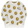 画像2: smiley face Braided print pullover Loose Sweater  スマイル編み込み ルーズ  セーター 男女兼用 ユニセックス (2)