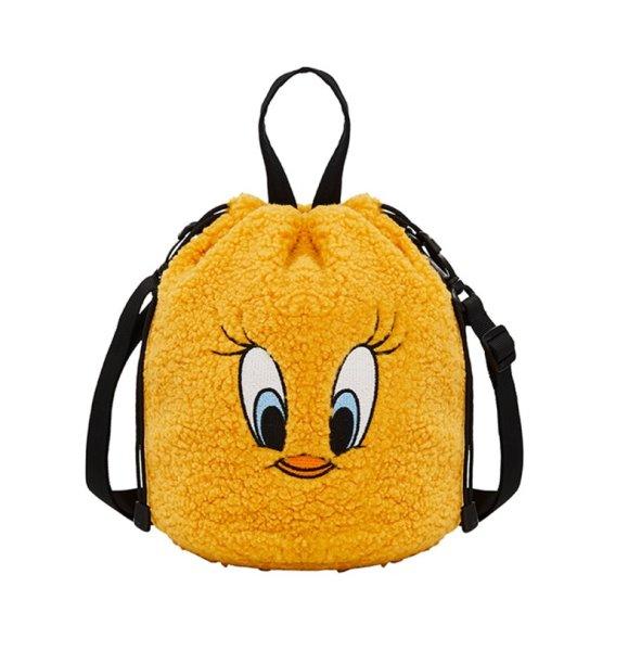 画像1: Tweety messenger small Tote shoulder bag  トゥイーティスモールメッセージトート ショルダーバック (1)