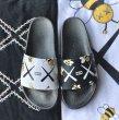 画像6: KAWS  slippers flip flops soft bottom sandals slippers  カウズkaws プラットフォーム フリップフロップ サンダルシャワーサンダル ビーチサンダル ユニセックス男女兼用 (6)