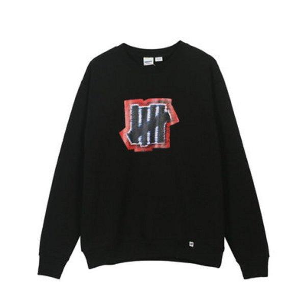 画像1: Unisex five-way graffiti printing round neck sweater 男女兼用 グラフィティストリートバー プリントスウェットプルオーバー トレーナー (1)