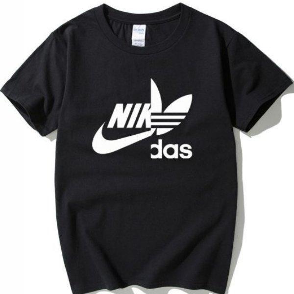 画像1: Unisex Men's NIKdas logo tshirt  ユニセックス 男女兼用 ナイダス ニキダス  半袖Tシャツ (1)