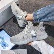 画像6: Unisex kaws lightweight graffiti lace-up sneakers  ユニセックス男女兼用カウズグラフィック 軽量レースアップ スニーカー (6)